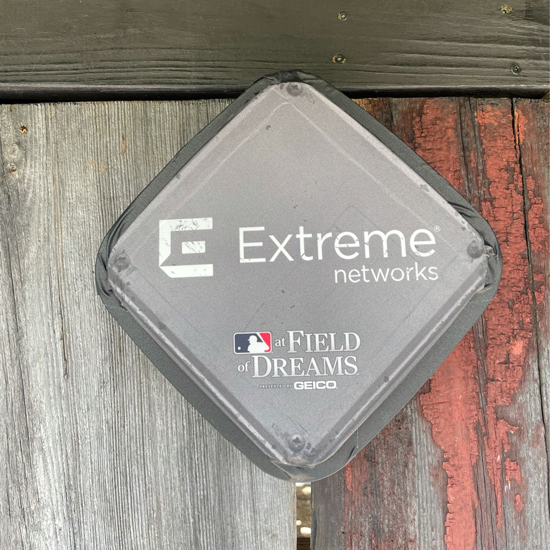 Extreme Networks AP at the Field of Dream