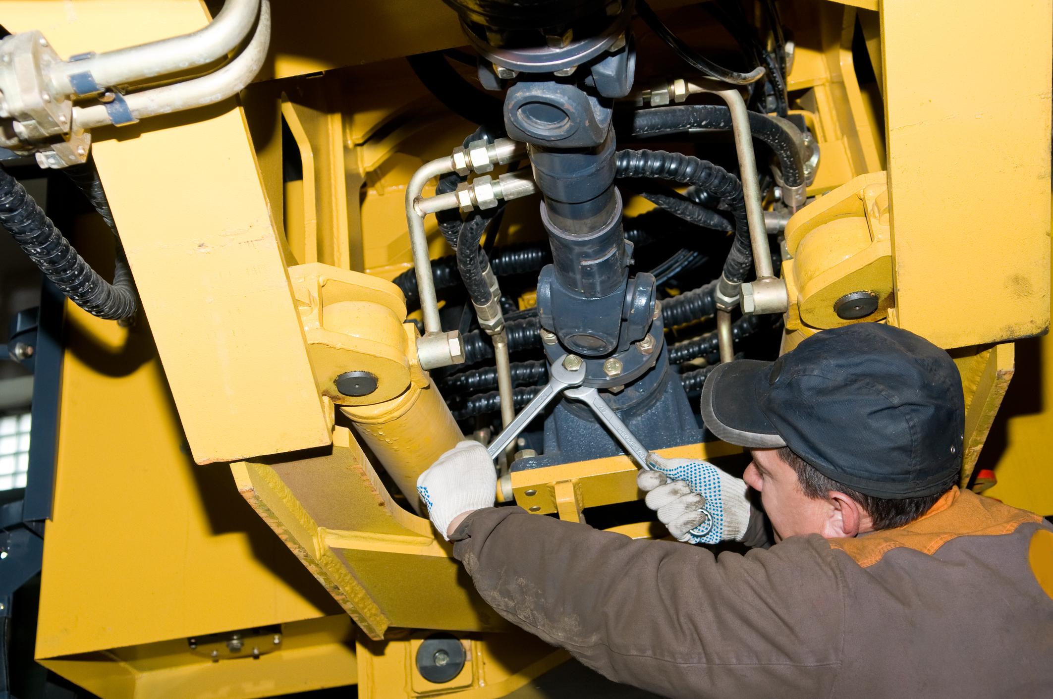 heavy equipment maintenance