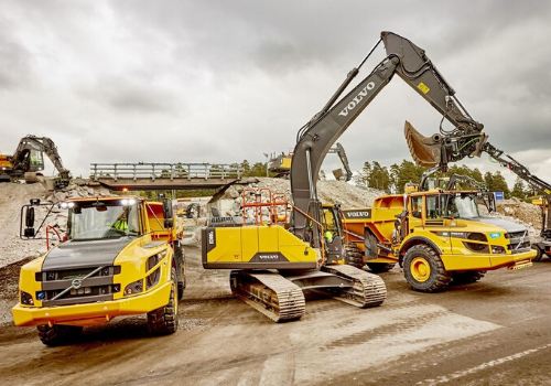 Volvo Construction Equipment Hydrotreated Vegetable Oil