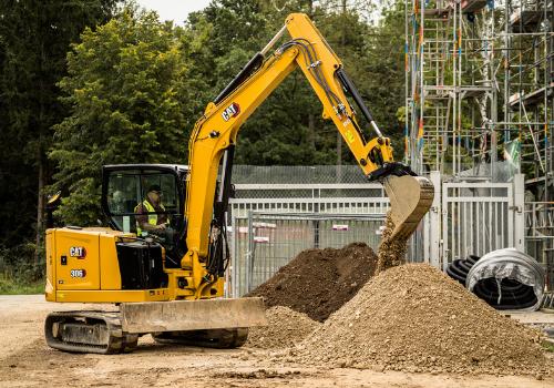 Cat 306 CR Mini Excavator