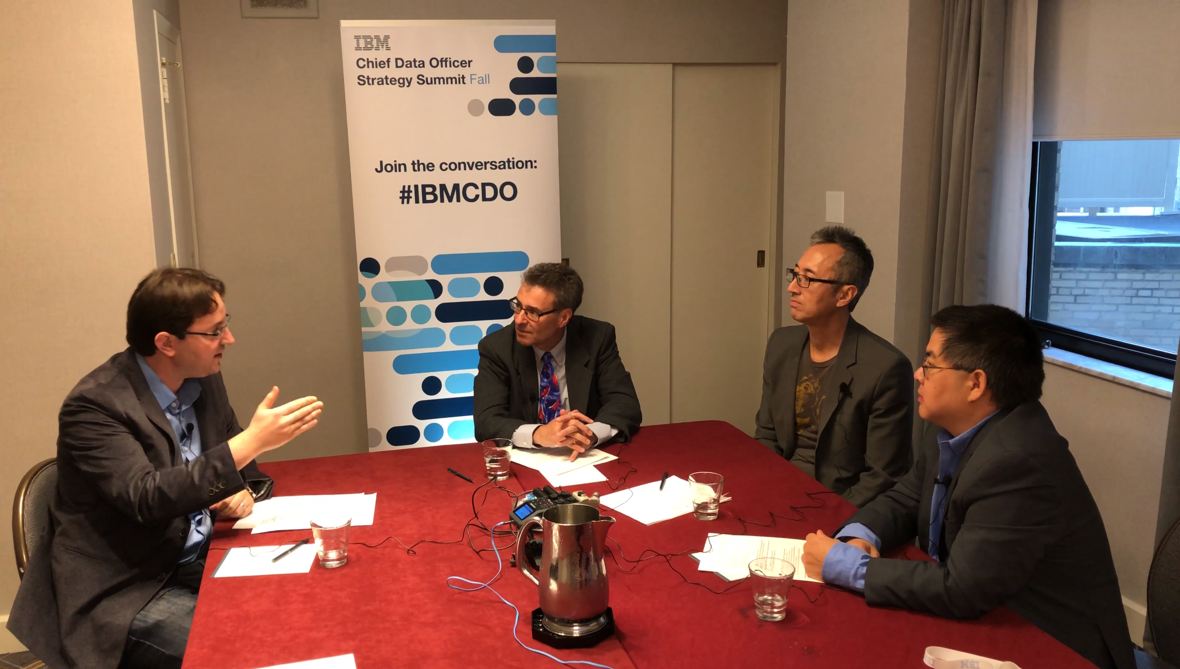 Data science, machine learning and the CDO - An expert discussion - IBM 20CDO 20Influencer 20Roundtable 20Fall 202017 - Data science, machine learning and the CDO – An expert discussion