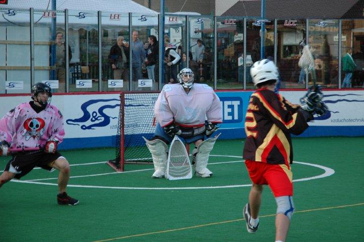 Czech box lacrosse lax boxla Ales Hrebesky Tournament Prague