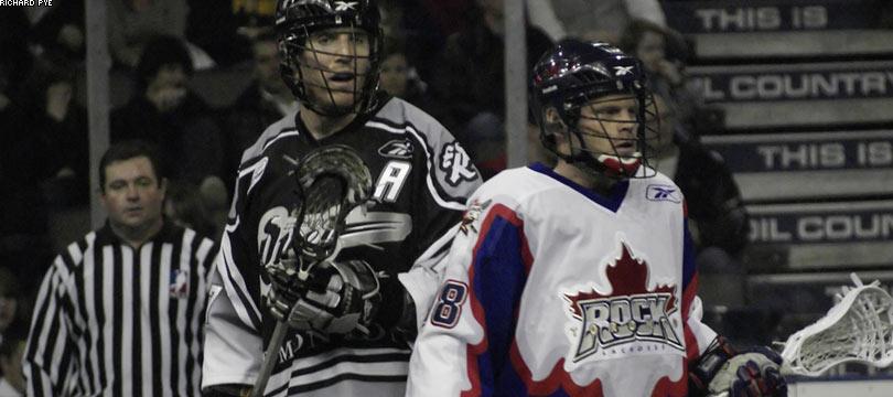 Edmonton Rush Toronto Rock NLL lacrosse boxla box lax