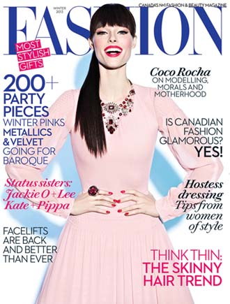 Coco Rocha Covers Fashion Magazine and Trumpets New Reality Show