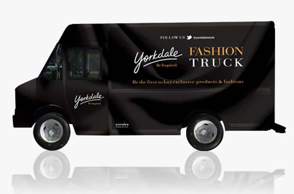 Yorkdale 39 s haute wheels makes a downtown toronto fashion for Cool food truck designs