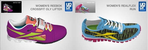 Reebok Canada Offers Pimped Up Kicks