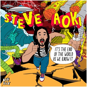 aoki endofworld Steve Aoki Goes White Raver Rafting With Michael Phelps: I Think He Capsized