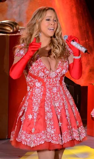 Mariah Carey Brings Christmas Cheer in Canadian Label Pavoni