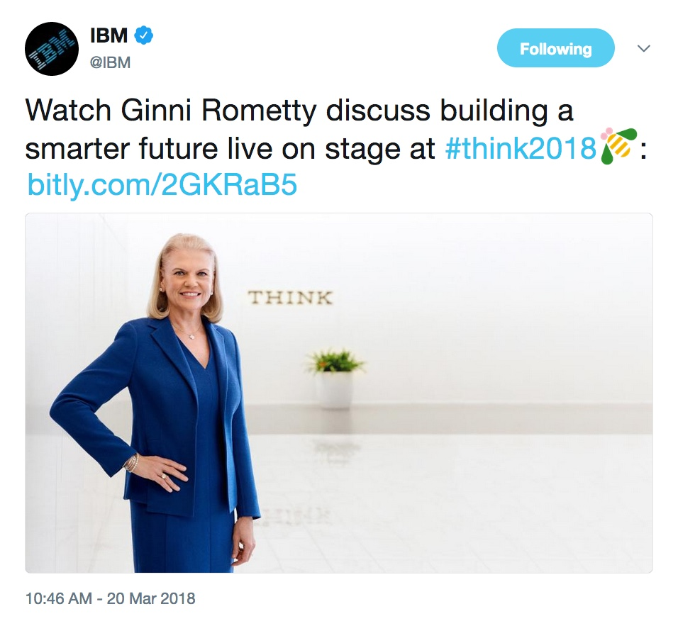 - thinktues01 20  20https   twitter - Think 2018: Our favorite highlights from Tuesday