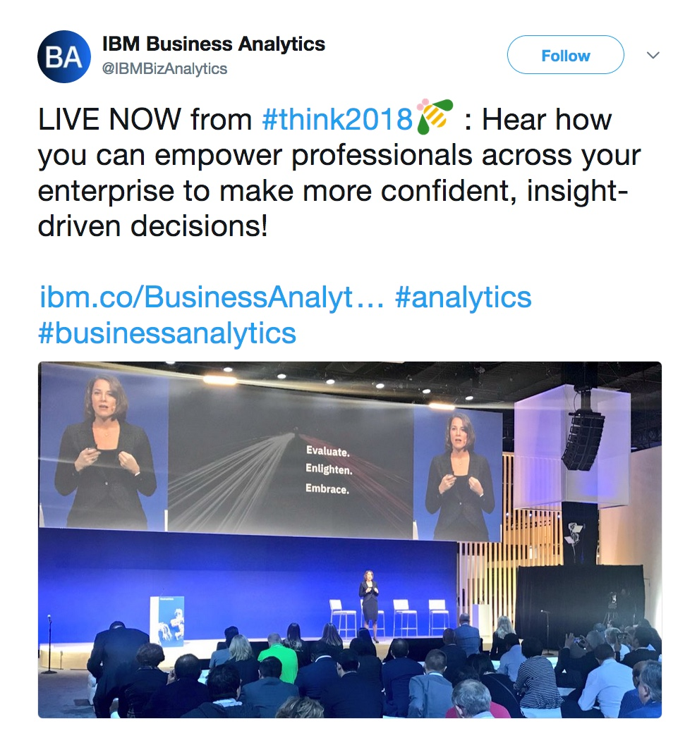 - thinktues02 20  20https   twitter - Think 2018: Our favorite highlights from Tuesday