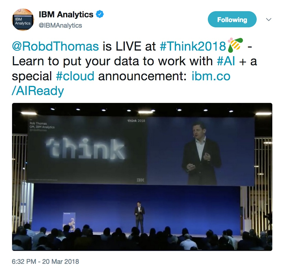 - thinktues4 20  20https   twitter - Think 2018: Our favorite highlights from Tuesday