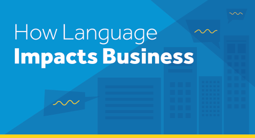 How Language Impacts Business Infographic