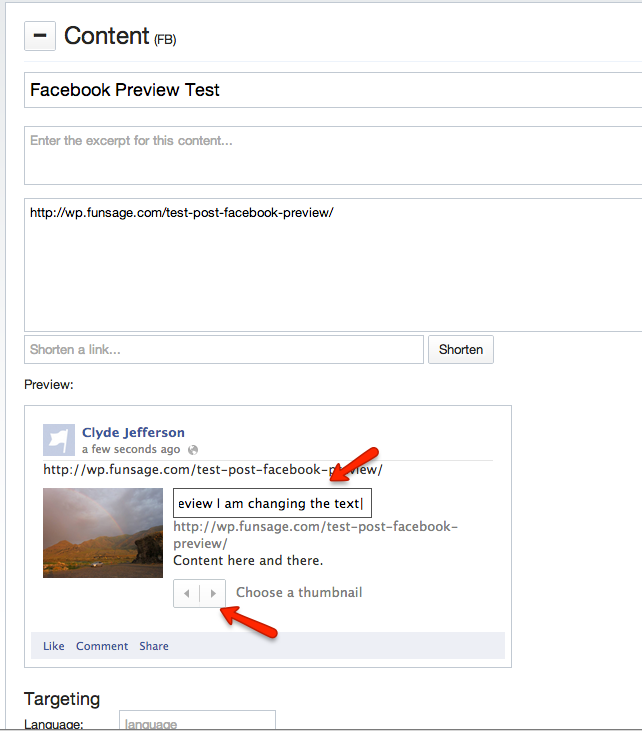Enable/Use Facebook Preview – Kapost Help Center