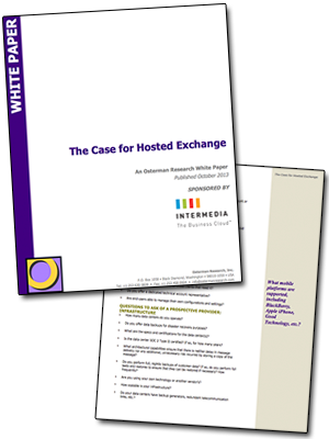 business email provider evaluation white paper