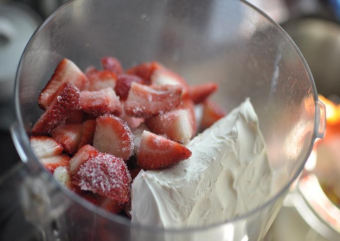 Strawberries and Cream Baked Breakfast Casserole