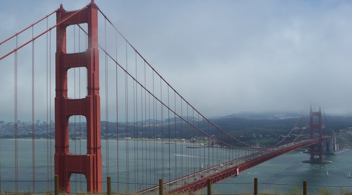 Golden Gate Bridge (Credit, Meghan Ross)