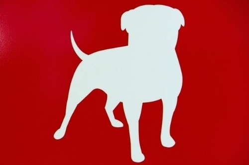 """7 """"MVP"""" (Most Valuable Pet) Brand Mascots, Past and ...  Red Dog Logo Brand"""