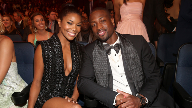 Dwayne Wade Gabrielle Union (Photo by Christopher Polk/Getty Images)
