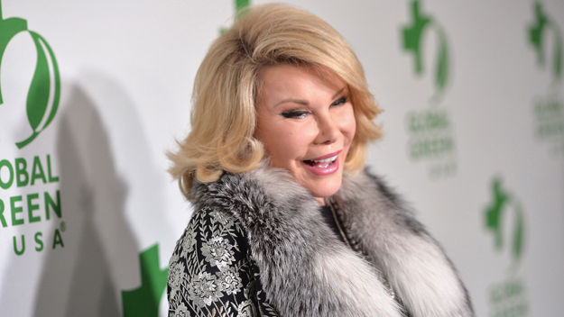 Joan Rivers  (Photo by Alberto E. Rodriguez/Getty Images)