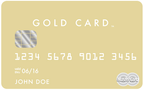Luxury Card MasterCard Gold Card black card