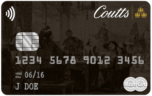 Coutts World Silk Card black card