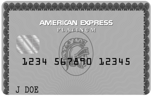 American Express Platinum Card black card