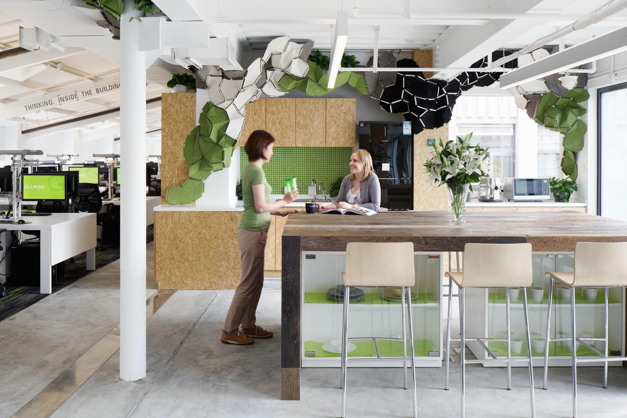 leed earth project pioneers the glumac shanghai office aims high