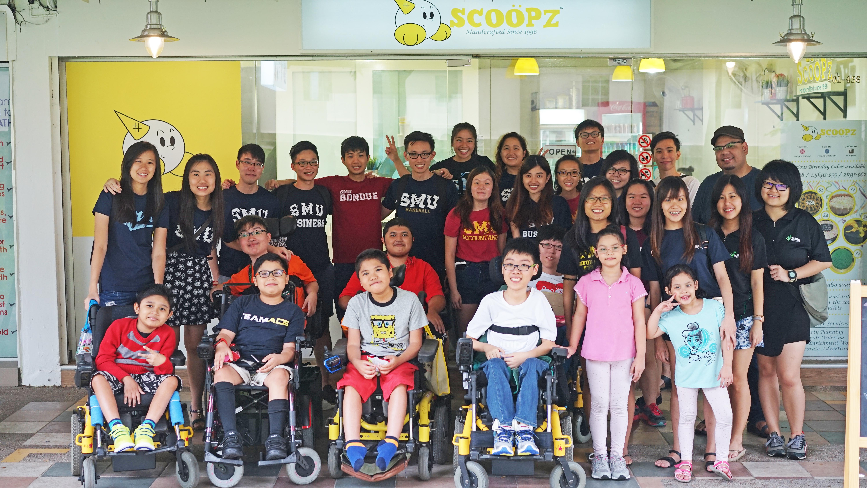 Group Shot at SMU Challenge Ice Cream Workshop