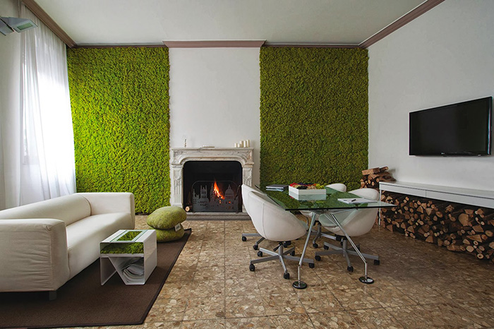Some panels are flat with plants embedded in foam while others consist of trays that are large enough to contain soil-filled planters. & Building a living wall for your home | Green Home Guide